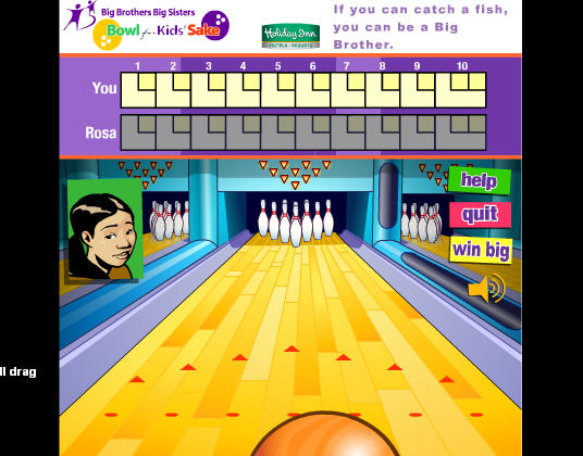 GutterBall Bowling Game