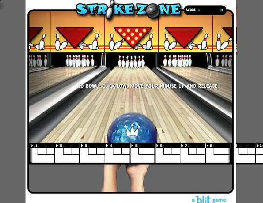 Kingpin Bowling Game